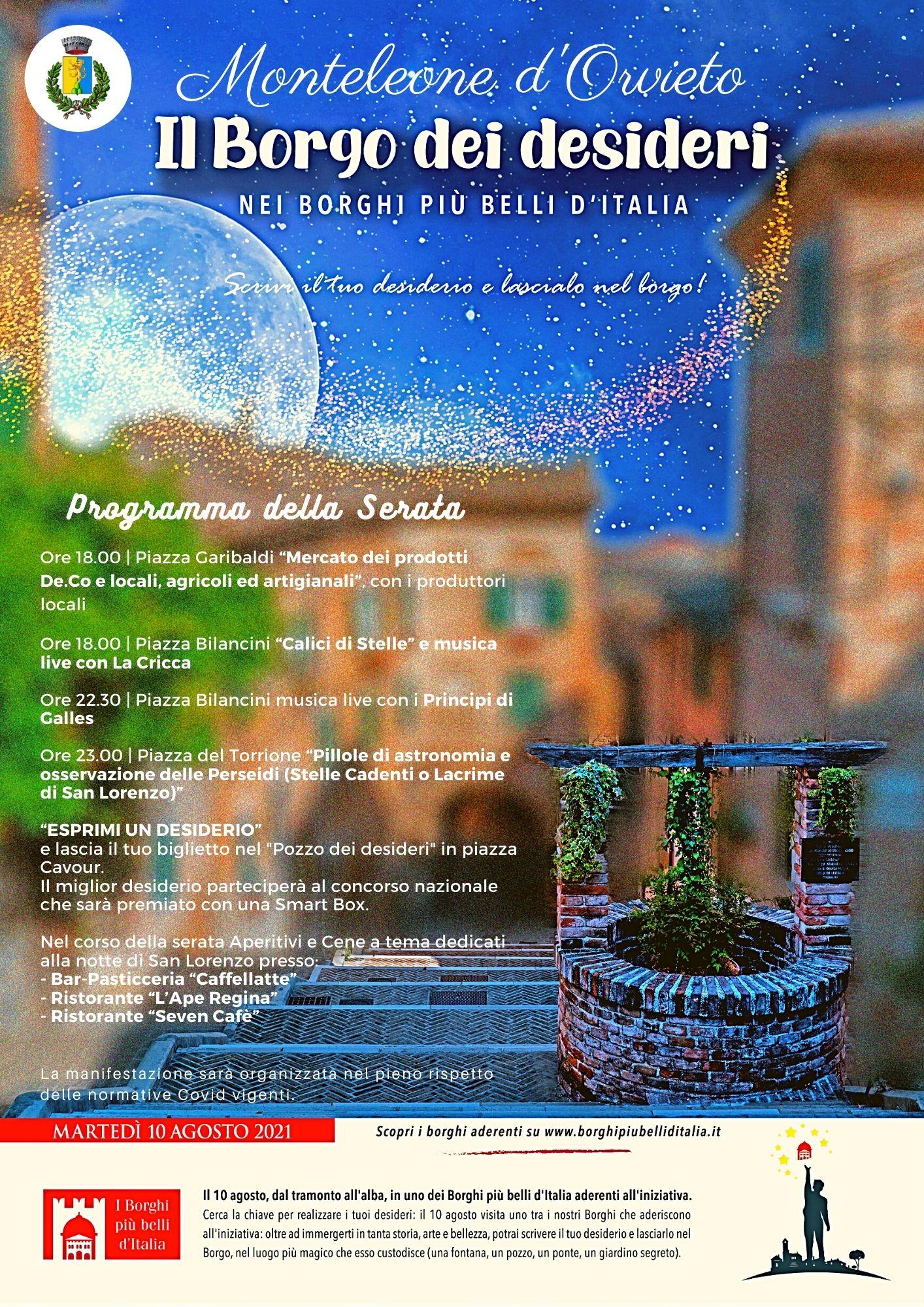 Monteleone d'Orvieto - Borgo dei Desideri 2021
