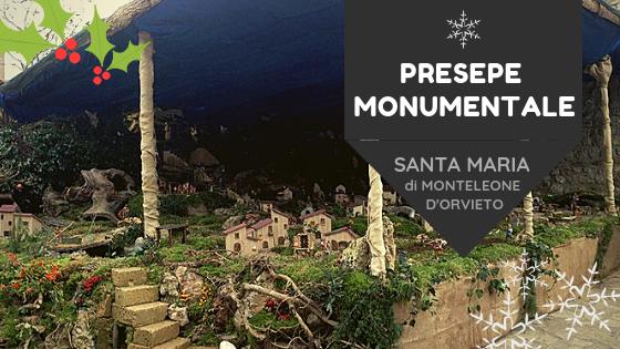 PRESEPIO MONUMENTALE DI SANTA MARIA