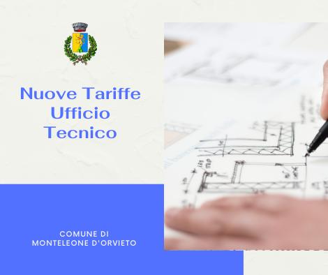 NUOVE TARIFFE UFFICIO TECNICO