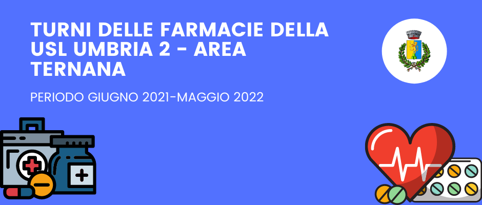 TURNI DELLE FARMACIE DELLA USL UMBRIA 2 - AREA TERNANA