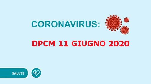 DPCM 11 Giugno 2020