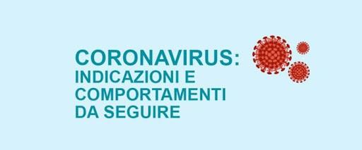 Informazioni su CORONAVIRUS  - a scopo precauzionale
